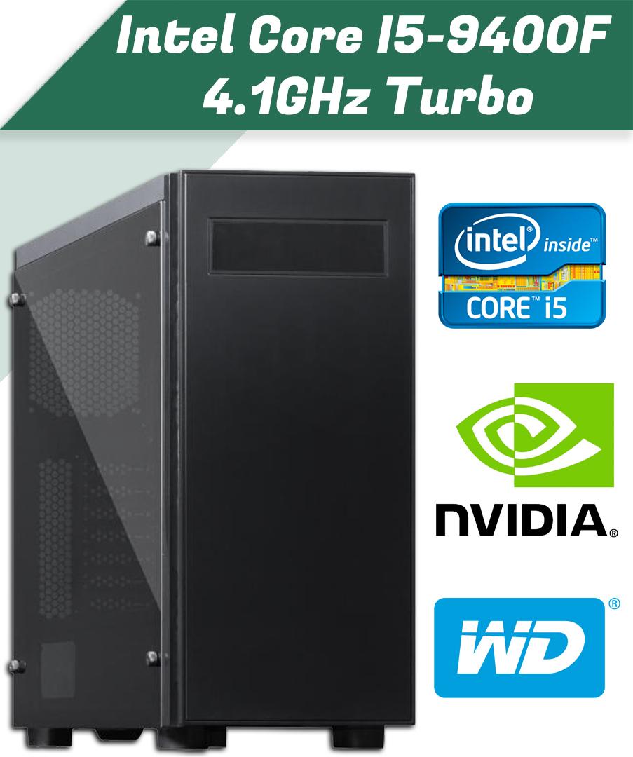 Intel Core i5-9400F 4.1GHz Turbo, 6 magos CPU