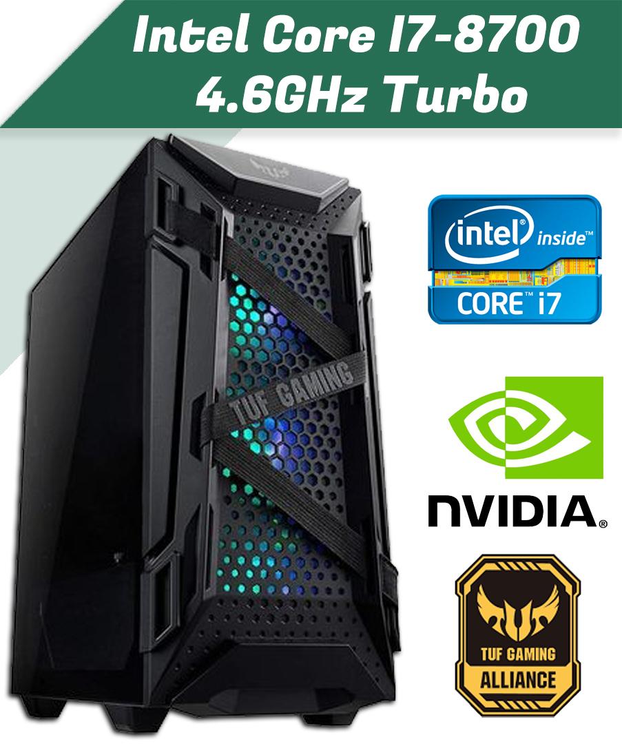 Intel Core i7-8700F 4.6GHz Turbo, 6 magos CPU